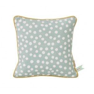 Dots Cushion - Dusty Blue
