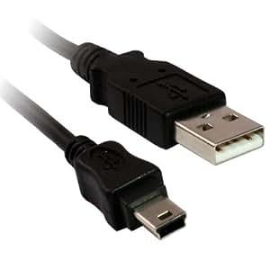 Essex Electronics 1m USB 2.0 A - 5 Pin Mini B Camera/MP3 Cable