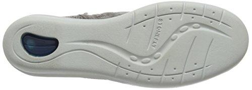 Stonefly Damen Easy 1 Sneaker Grau (TAUPE 423)