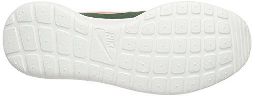 Nike WMNS ROSHE ONE RETRO, Scarpe da ginnastica Donna Verde (Grün (381 GORGE GREEN/BRGHT MANGO-SL-BLK))