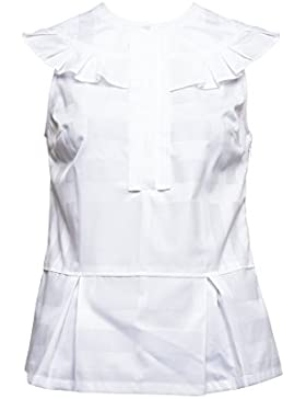 Burberry Mujer 4034832 Blanco Algodon Camisa