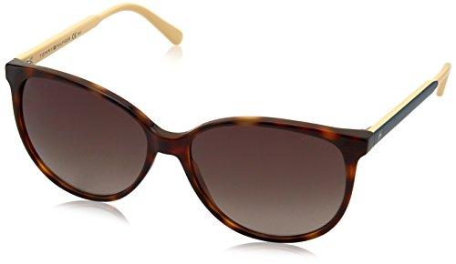 Tommy Hilfiger Damen Schmetterling Sonnenbrille TH 1261/S HA, Gr. 57 mm, 4LV Preisvergleich