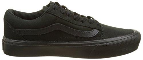 Vans Unisex-Erwachsene Ua Old Skool Lite Sneakers, (Canvas) Black/Black Schwarz (Canvas Black/black)