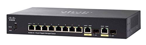 Cisco Systems Cisco SG350-10 10-Port Gigabit Managed Switch