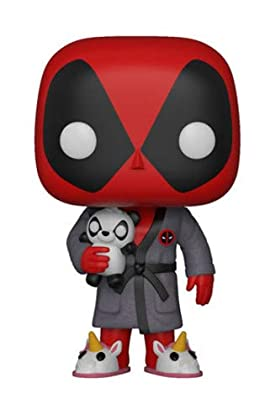 Figura Pop Marvel Deadpool Parody Deadpool in Robe