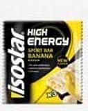 Isostar 3 barres énergétiques high energy 3x35gr goût banane