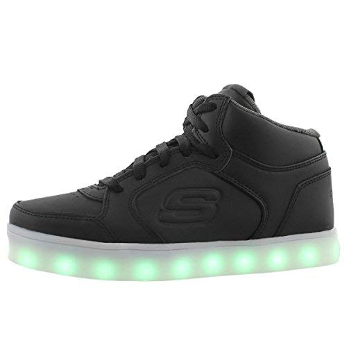 Skechers energy lights, sneaker bambino, nero (black), 30 eu
