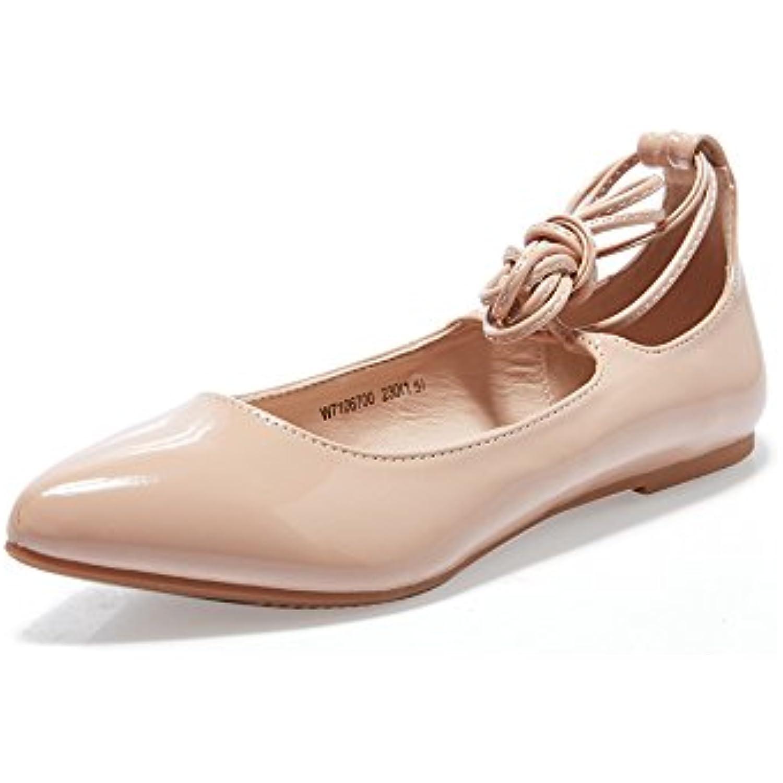 Féminines Dame BoucheB07d5c52fg En Plates Fille Cuir Pour Lanières Femme Chaussures S À Yqq N80XOkPwn