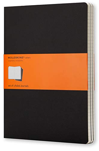 Moleskine Cahier Journal - Set of 3 Ruled Notebooks, for sale  Delivered anywhere in UK