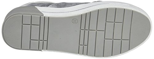 XTI Damen 48026 Slip on Sneaker Silber (Platinium)