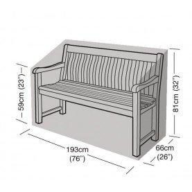 Girlande silber 3-4-sitzer-bank Abdeckung (193x81x66cm) Schwarz -
