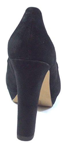 CAFè Noir Scarpe Donna decoltee camoscio colore nero MA501 010 Nero