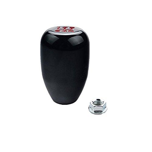 tknäufe Universal Manueller Stick Shift Kopf M10x1.5 Schraube auf die Meisten Autos (Schwarz) (Honda Civic Getriebe)