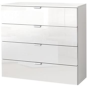 Kommode Sideboard Pavos, Korpus In Weiß Matt / Front In Weiß