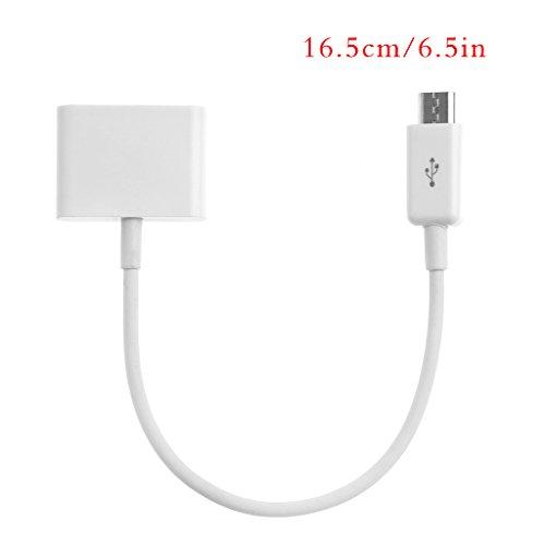Cable adaptador 30 pines hembra micro USB macho sincronización