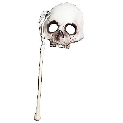 LBAFS Halloween Bar Maskerade Horror Scary Ghost Festival Taro Piraten Vintage Maske Für Männer und Frauen