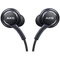 Excellent Accessories-AKG Cuffie, Auricolari, Headset per Samsung Galaxy S8 e S8 Plus, Nero [eo-ig955]