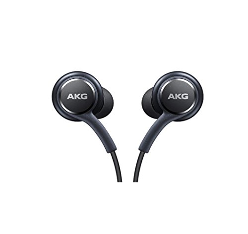 Excellent Accessories-AKG Cuffie, Auricolari, Headset per Samsung Galaxy S8 e S8 Plus, Nero [eo-ig955]