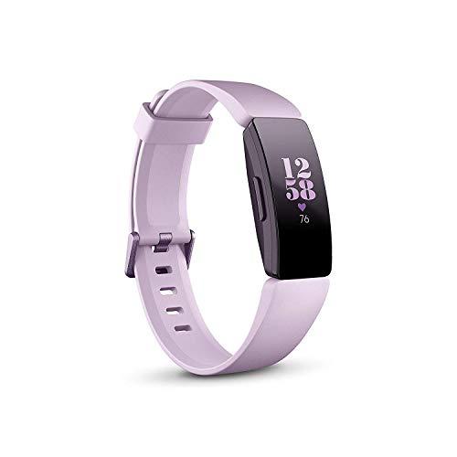Fitbit Inspire HR, Bracelet pour la forme au quotidien avec suivi continu de la fréquence cardiaque, Lilas