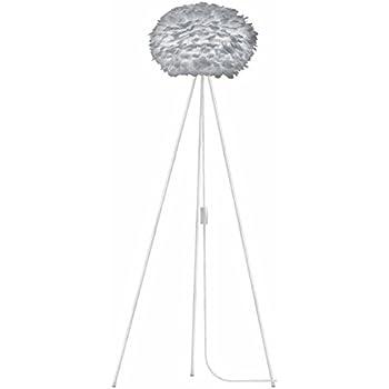 Tisch-Tripod weiß LED Leuchtmittel Vita EOS Leuchte light grey UMAGE