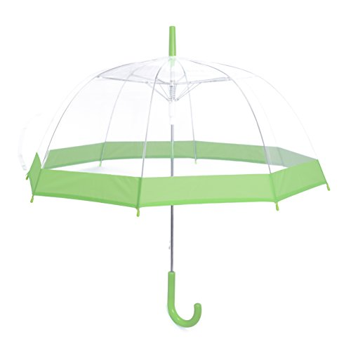e7d8826dc06b Rainbrace Clear Transparent Bubble Umbrella Auto Open, Fashion Dome ...