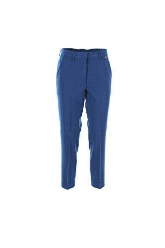 Pantalone Donna Twin-set Xl Blu Ts62jp Primavera Estate 2016