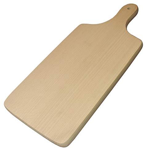 Paddle Schneidebrett, aus Buchenholz, holz, Natural Beech Wood, 35x15.5x1cm