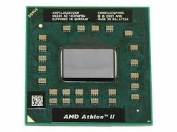 AMD AMP340SGR22GM Athlon II Dual-Core 2.2GHz Laptop CPU Prozessor Sockel S1 Amd Dual Core Laptop