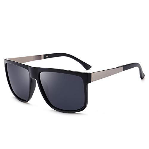 Siwen Neue treibende Sonnenbrille Männer Low Profile Sonnenbrillen für Männer im Freien Oculos,Sand Schwarz