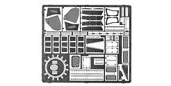 Súper ala Serie SWS-002M02 - Modellbauzubehör Photo-Grabado Set Exterior para Ta152H-1