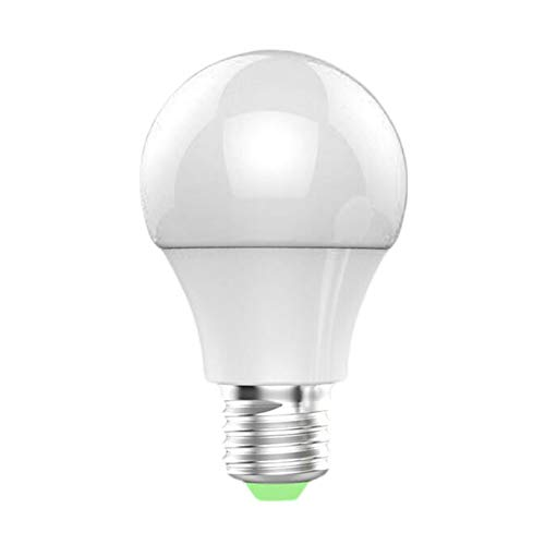 ghfcffdghrdshdfh Mini Color Cell Phone App Remote Sensing Control Wi-Fi Smart LED Bulb Light Compatible with Alexa / Google Home - Sensing Bulb