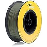 BEEVERYCREATIVE CBA110346 BEESUPPLY PLA Filament für 3D Drucker, 1,75 mm, 330 g, A116, Chromoxidgrün - gut und günstig