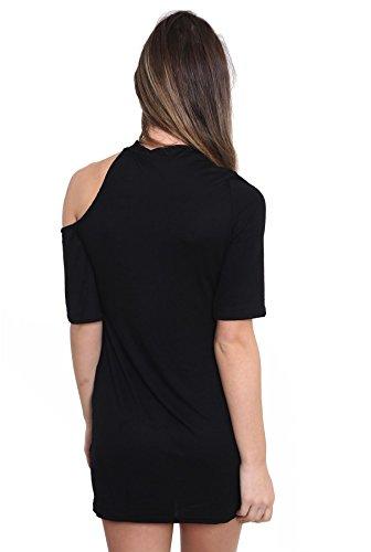 SheLikes - T-shirt - Femme * taille unique US Rock n Roll Legends Motif