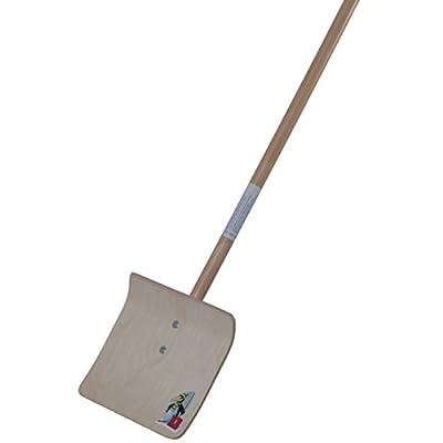 Kinderschneeschieber | Schneeschaufel | 75 cm lang | Blattgröße: 26 x 22 cm | Sperrholz |