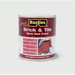Rustins BRITW5000 5 litros de secado rápido de ladrillos y azulejos