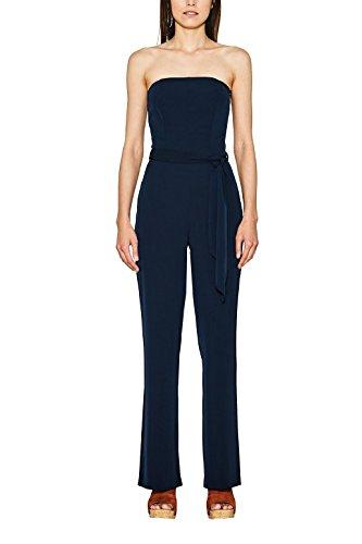 ESPRIT Collection Damen 067EO1L003 Jumpsuit,,per pack Blau (Navy 400),34