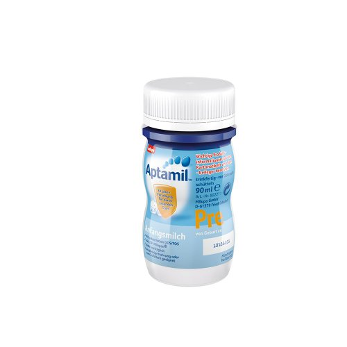 Aptamil Pre Anfangsmilch, trinkfertig, 24er Pack (24 x 90 ml)