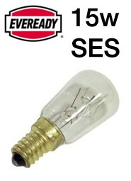 Eveready 15W SES Fridge Lamp - inexpensive UK light shop.