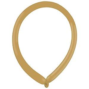 amscan 9905511 Fashion E160 - Globos de látex (100 Unidades), Color marrón