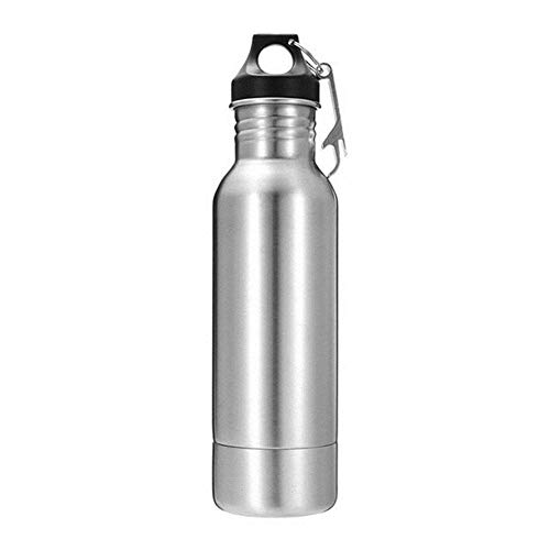 ZRDY Edelstahl-Bierflaschenhalter Mit Flaschenöffner Isolator In Der Flasche Hält Bier Kalt Und Passt Auf Die Meisten 12-Unzen-Flaschen (Color : 12oz) (Wasser-flaschen 12 Unzen)
