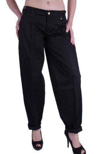 Diesel Damen Hose Chino Pumphose Schwarz Negras #4 (W28/L34)