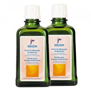 WELEDA Duo Huile de massage vergetures - 2x100ml