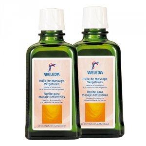 WELEDA Duo Huile de massage vergetures - 2x100ml