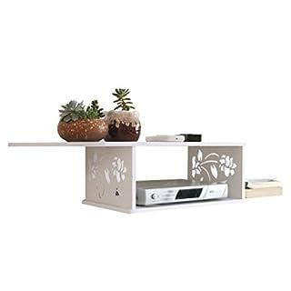 YZWJ DFHHG Regal, TV Set-Top-Box Regal Wandhalterung an der Wand Creative Dekorrahmen 18 * 17 * 23,5 cm Stark und langlebig