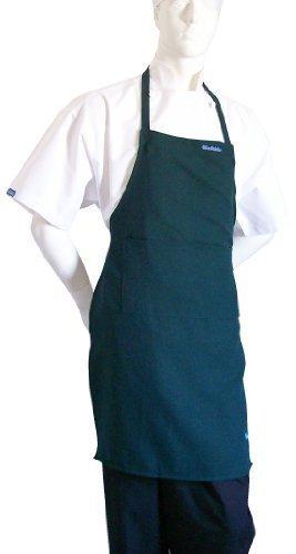 chefskin-adult-apron-kelly-green-color-ultra-lightweight-cool-fresh-molto-confortevole-center-pocket