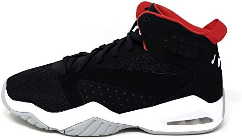 NIKE nero Jordan Men's Jordan Lift off scarpe, nero NIKE bianca-University rosso-Wolf grigio, 12 df04a8
