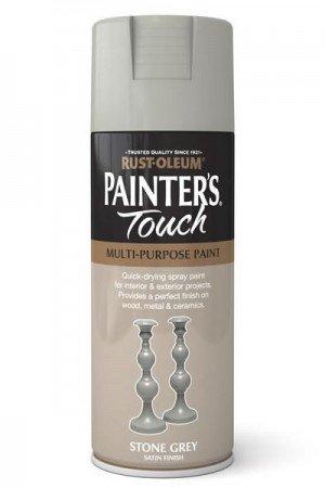 rust-oleum-painters-touch-multi-purpose-aerosol-spray-paint-400ml-stone-grey-satin-1-pack