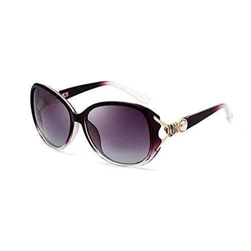 SCJ Mode Retro Sonnenbrillen Herren Sonnenbrillen Polarisierte Gläser HD Driving Brillen Sportbrillen Anti-UV Anti-Glare (Farbe: 3)