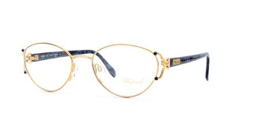 chopard-monture-de-lunettes-femme-bleu-blue-gold