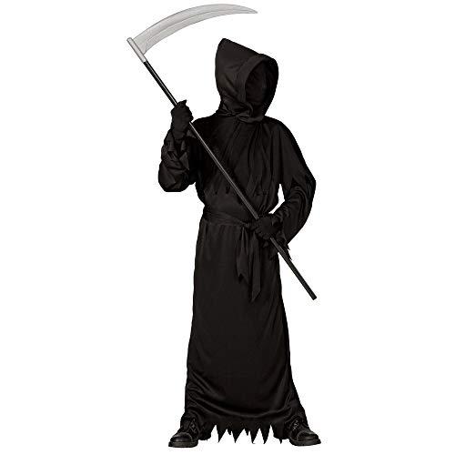 Widmann wdm07447 - costume black ghoul, nero, 8-10 anni (altezza 140 cm)